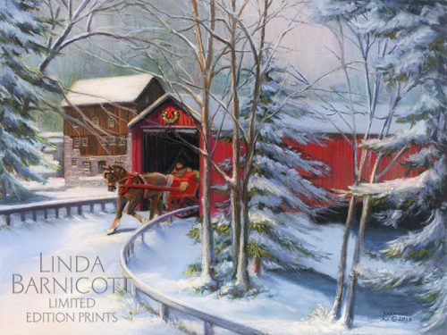 Winter S Beauty At Mcconnells Mill Ornament Linda