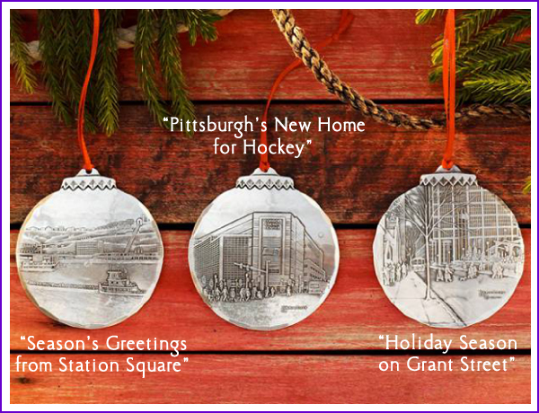 Click to Enlarge - Wendell August Forge 2012 Holiday Ornaments €� Linda Barnicott
