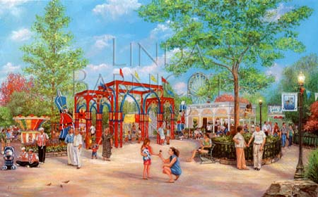 """Golden Memories of Kennywood's Kiddieland"" by Linda Barnicott"