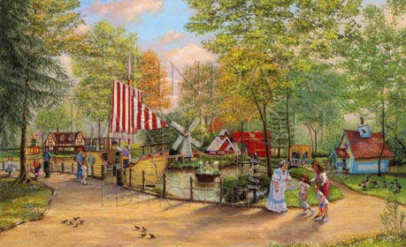 """""""Once Upon a Time in Storybook Forest"""" by Linda Barnicott"""