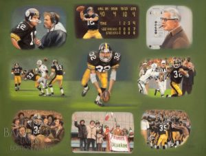 """""""Franco Harris - The Immaculate Reception Story"""" features Steelers legend Franco Harris in one of the most iconic moments in Pittsburgh sports history."""