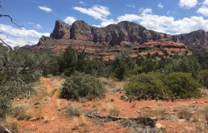 A photograph of the mountains in Sedona, Arizona