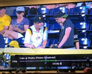 Tom Barnicott at PNC Park