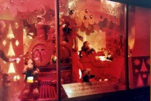This is an image of one of the Kaufmann's department store Christmas windows.