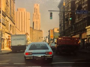 This image is a photo of Oakland in the early 1990s.