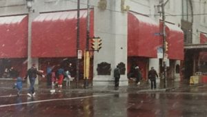 This is an image taken by Linda Barnicott in the early 1990s of Horne's Department Store in Downtown Pittsburgh.